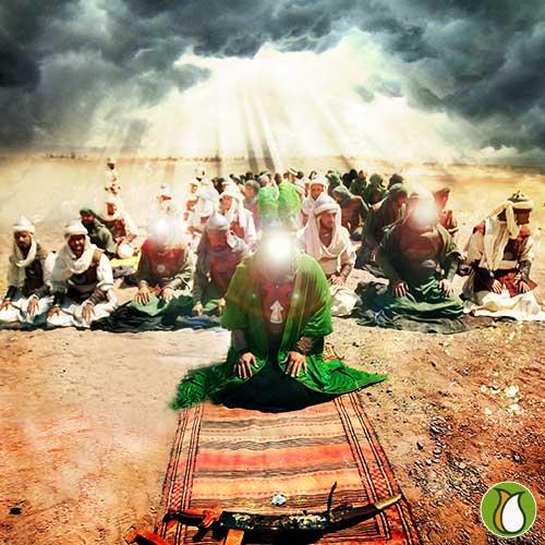 نماز-امام-حسین