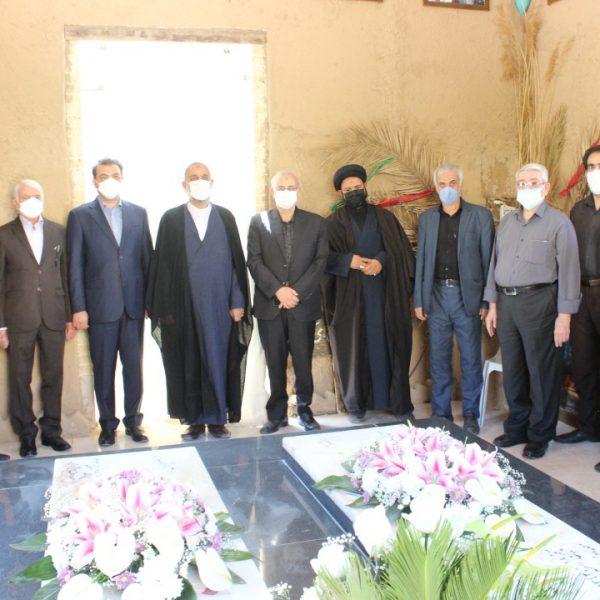 مراسم تکریم شهدای گمنام شیراز در 1400