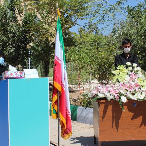 مراسم-تکریم-شهدای-گمنام-شیراز-1400